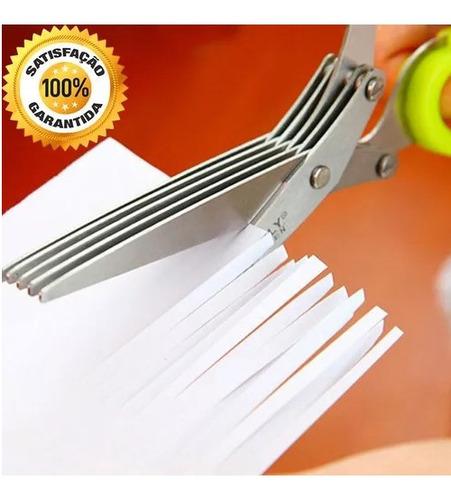 kit 8 tesouras de aço inoxidável facas de cozinha 5 camadas