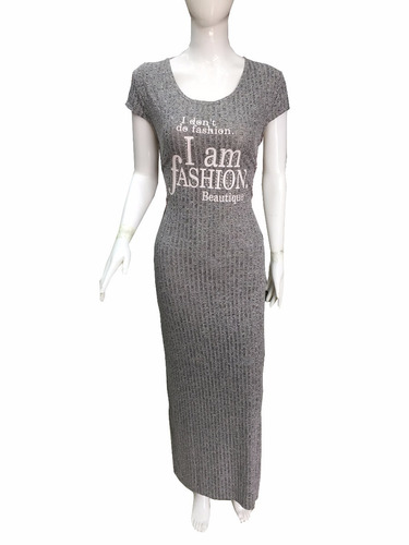 kit 8 vestido longo malha viscolycra sem manga atacado reve