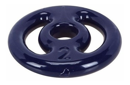 kit 8kg anilhas emborrachadas + 2 barras musculação -c22