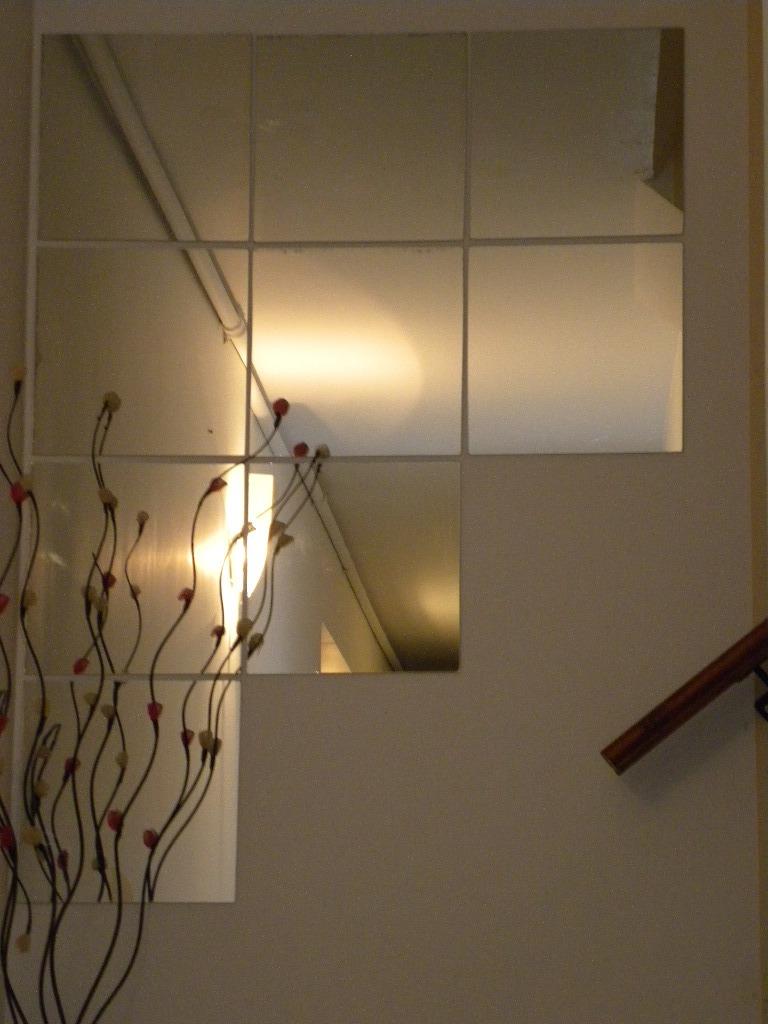 kit espejos cuadrados para decorar living comedor bao