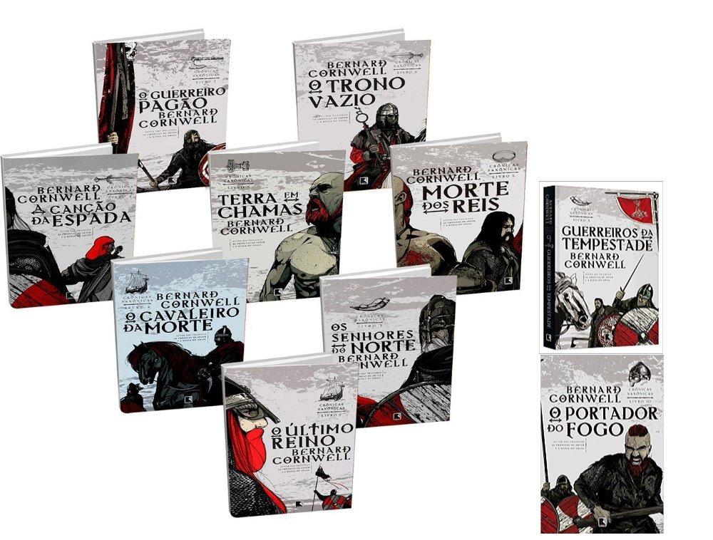 Resultado de imagem para bernard cornwell livros crônicas saxônicas