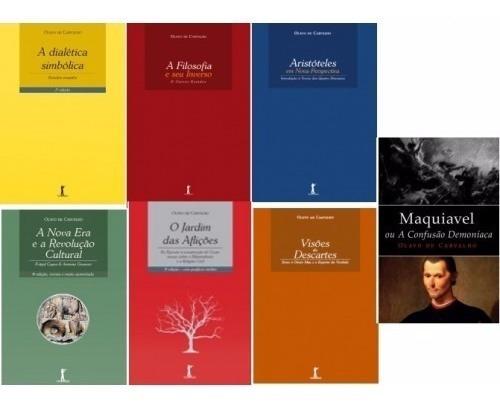 kit 9 livros  - olavo de carvalho - filosofia