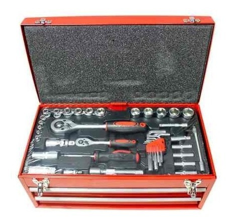 kit 90 herramientas maletin destornillador llave tubo pinza