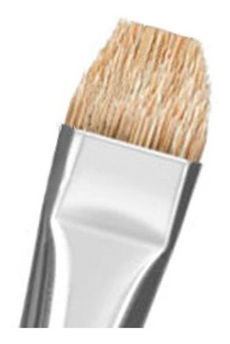 kit 9x pincel condor 454 para tecido madeira tinta a oleo