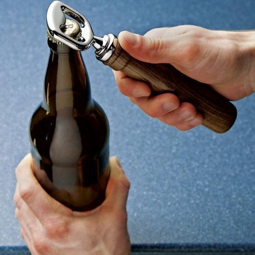 kit abre botellas cromado para torneros carpinteros 42387