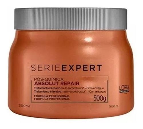 kit absolut repair pós química shampoo 500ml e máscara 500g