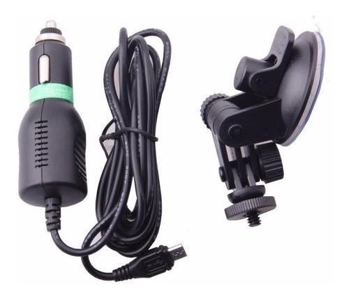 kit accesorios auto escenciales sjcam original
