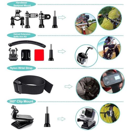 kit accesorios cam