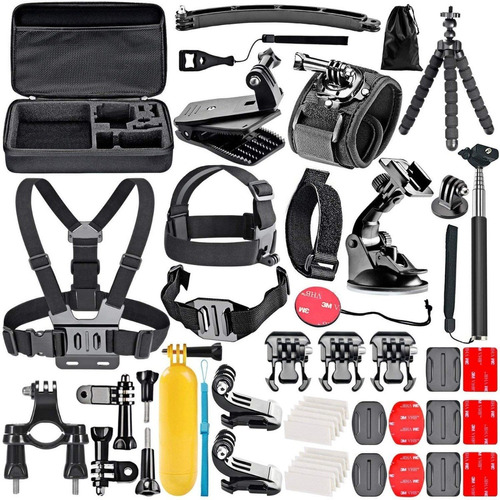 kit accesorios camara gopro 3 4 5 6 7 8 black sjcam sony