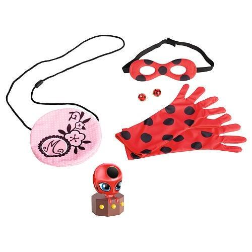 kit accesorios disfraz ladybug miraculous prodigiosas 2016