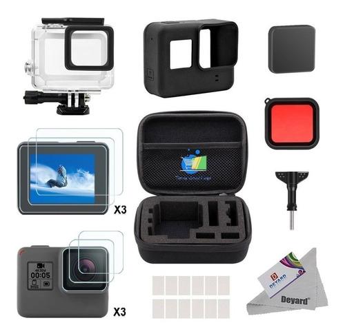 kit accesorios para camaras gopro hero7 hero6 hero5 black