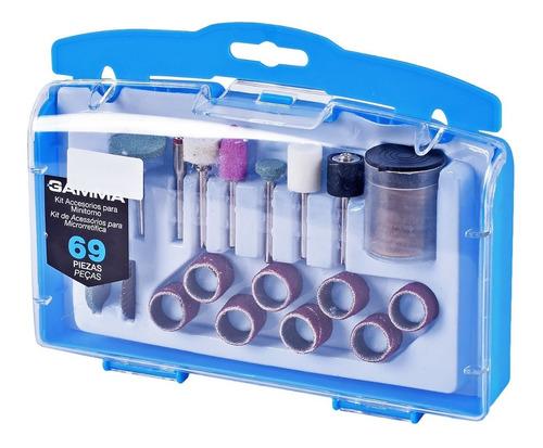 kit accesorios para minitorno 69 piezas.
