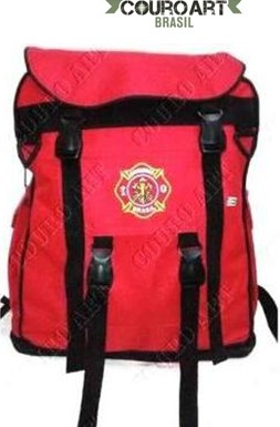 kit acessórios bombeiro civil com mochila