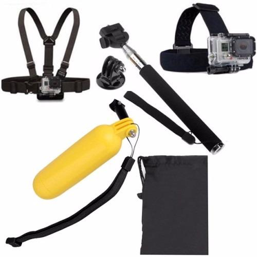 kit acessórios câmera hero hd 2 3 3+ 4 5 gopro 6 7 novo