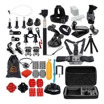 kit acessórios combo p gopro hero 5 6 7 black expresso