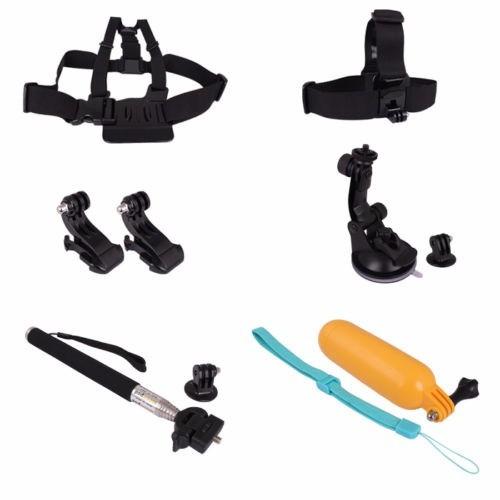 kit acessórios e suportes gopro hero 2 3 3+ 4 hd