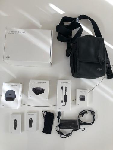 kit acessórios fly more combo dji drone mavic pro