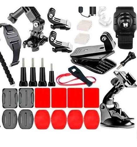 kit acessórios gopro 7 black completo go pro hero 6 5 4 3 54