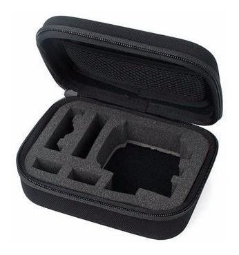 kit acessórios gopro hero 5 6 black caixa estanque ventosa