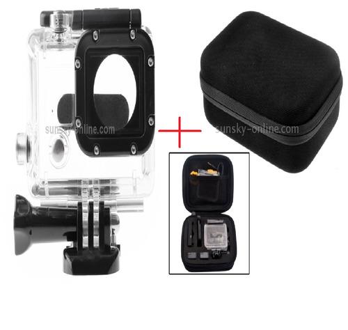 kit acessórios para câmera hero 2/3/3+/4 gopro 2 em 1 novo