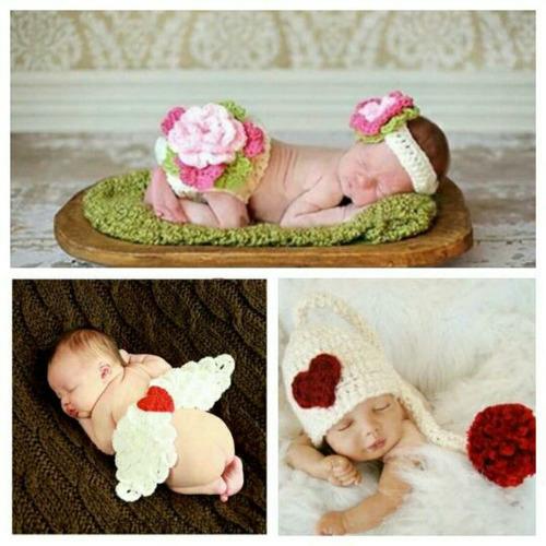 kit acessórios para newborn fotografia