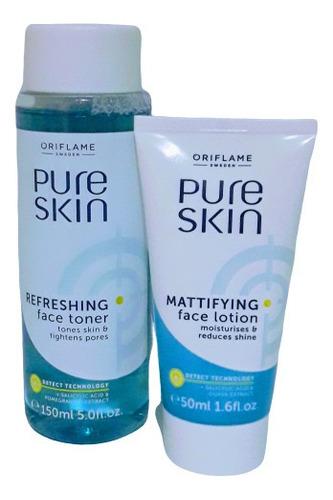 kit acné | tratamiento pure skin    l a - l a $60