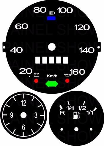 kit acrilico p/ painel - cod574v160 - variant ou tl