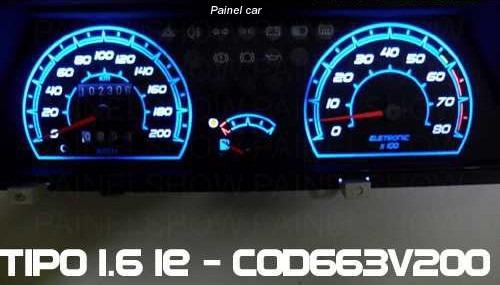 kit acrilico translucido p/ painel do tipo 1.6 - cod663v200