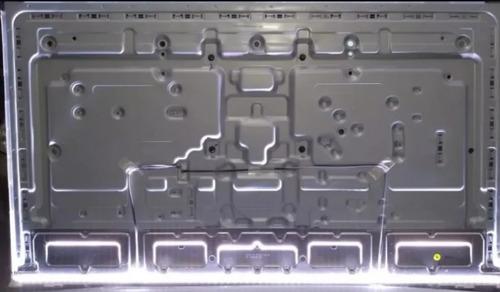 kit acrilicos c/ barra de leds samsung un50nu7100 un50ru7100