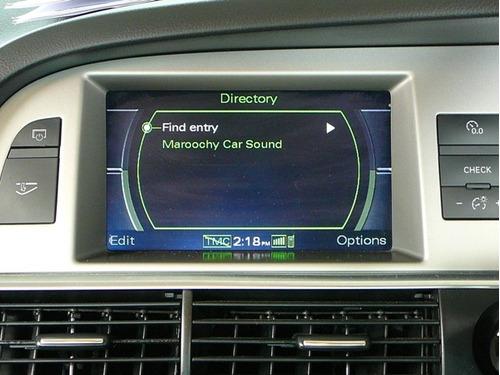 kit activación de video en movimiento audi a6, a8, q7