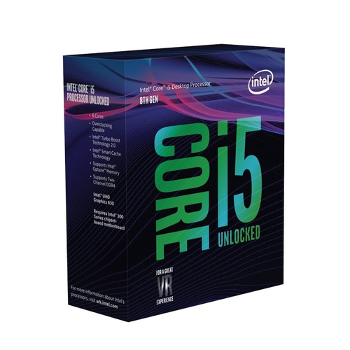 kit actualizacion gamer intel core i5 8400 six core 8gb asus