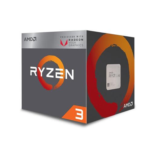 kit actualizacion gamer ryzen 2200g quad core 8gb vega 8