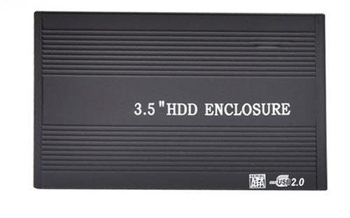 kit adaptador caddy + case para hd 3.5 windows xp os x linux