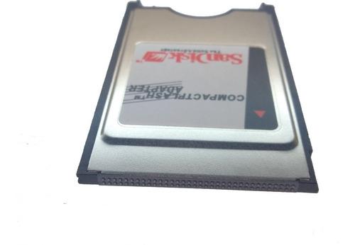 kit adaptador compact flash pcmcia + cf 1gb ext3 + nfe fanuc