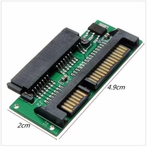 kit adaptador micro sata 1.8 para sata + cabo sata para usb