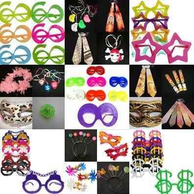 kit adereços festa aniversário 60 convidados luxo