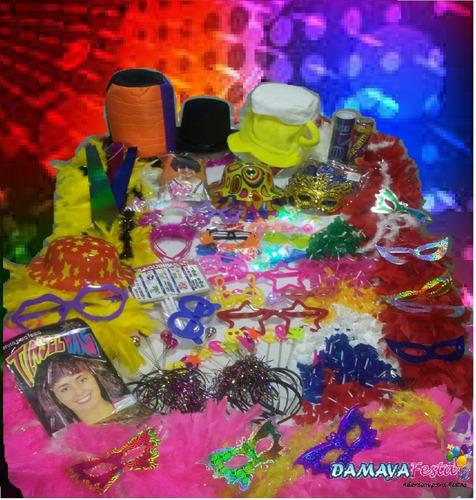 kit adereços p/festa de 15 anos c/kit debutante+brindes+fret