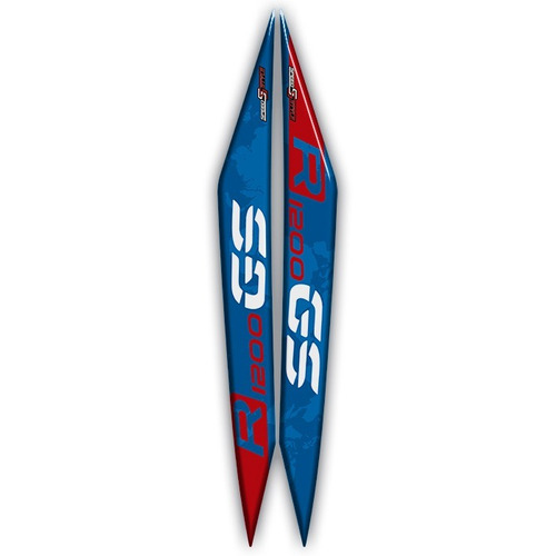 kit adesivo bmw gs 1200 r - original americano ds