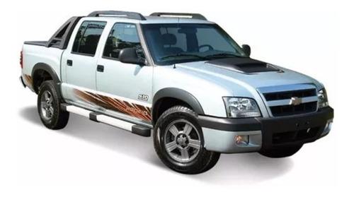 kit adesivo chevrolet s10 rodeio 2011 flex/diesel completo
