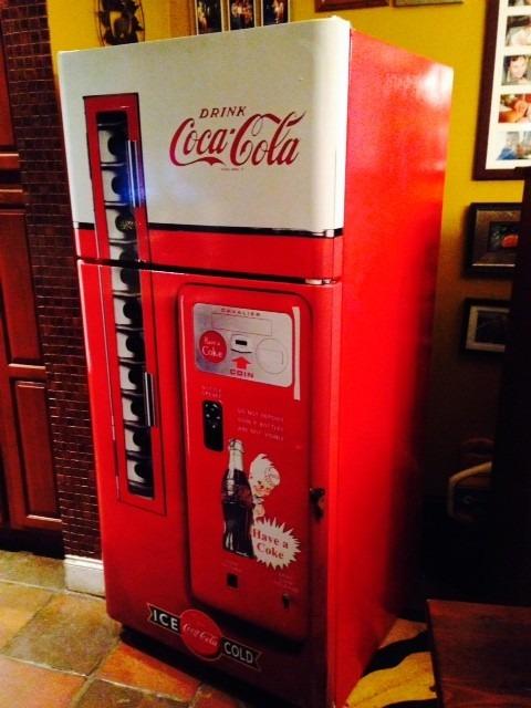 Adesivo Geladeira Retro Coca Cola ~ Kit Adesivo Envelopamento Skin Geladeira Máquina Coca cola R$ 135,00 em Mercado Livre