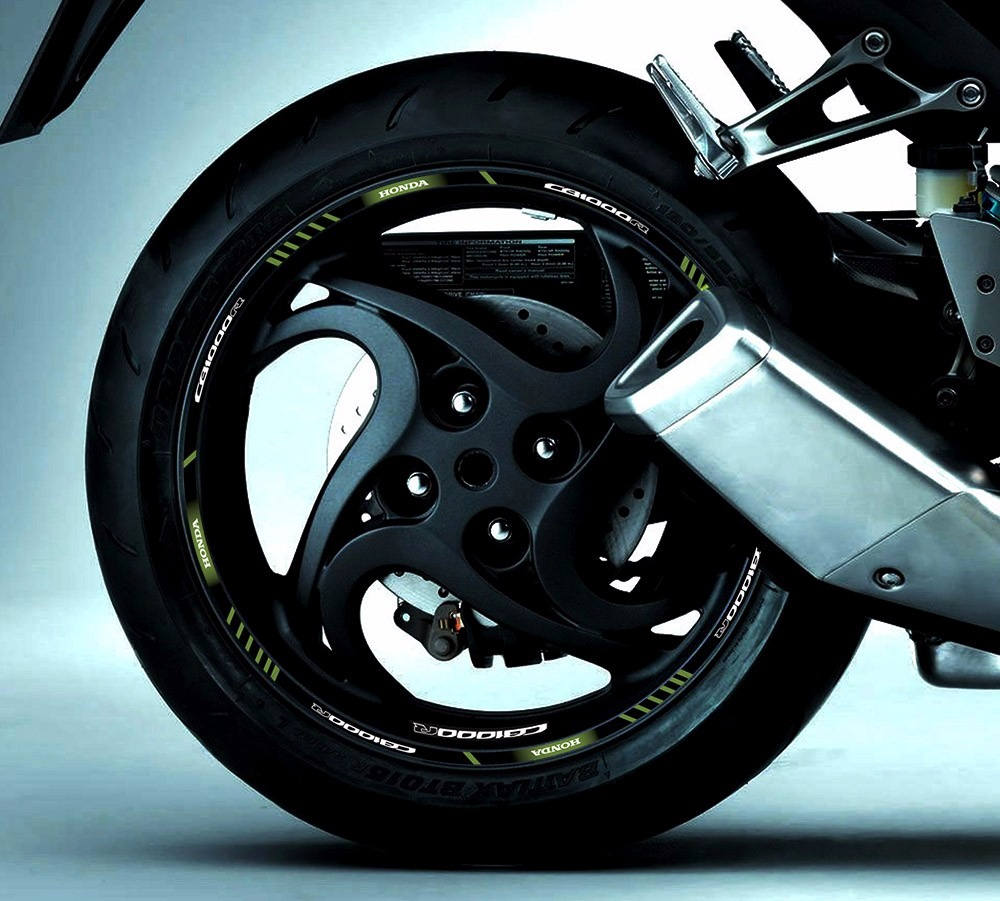 Patricia Valença Artesanato ~ Kit Adesivo Friso Refletivo Roda Moto Honda Cb 1000r Fri96 R$ 120,50 em Mercado Livre