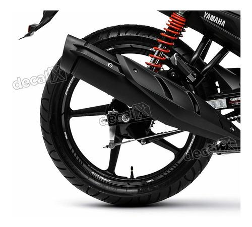 kit adesivo friso refletivo roda moto yamaha fazer 150 fri41