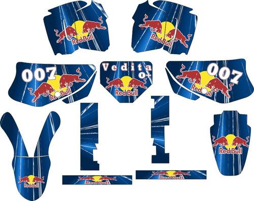 kit adesivo grafico xr 200 tuning trilha rally personalizado