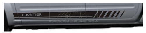 kit adesivo nissan frontier fr1 faixa pick-up td cd sl la