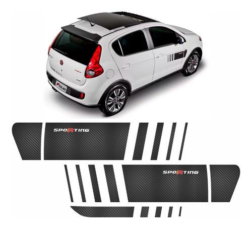 kit adesivo palio sporting atractive faixa carbono ano 12/16