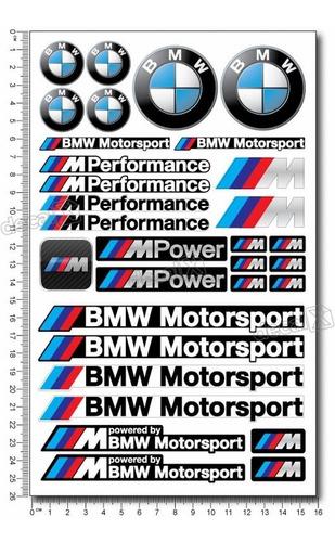 kit adesivos capacete bmw motosport ktcp140