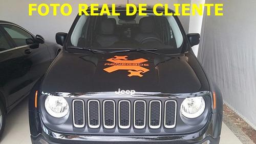 kit adesivos jeep renegade lateral e capo e brinde paralamas