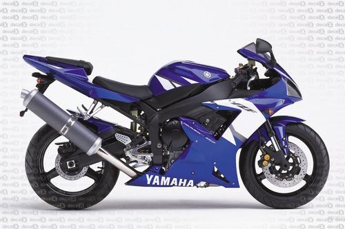 kit adesivos yamaha r1 2002 azul e preta r102az