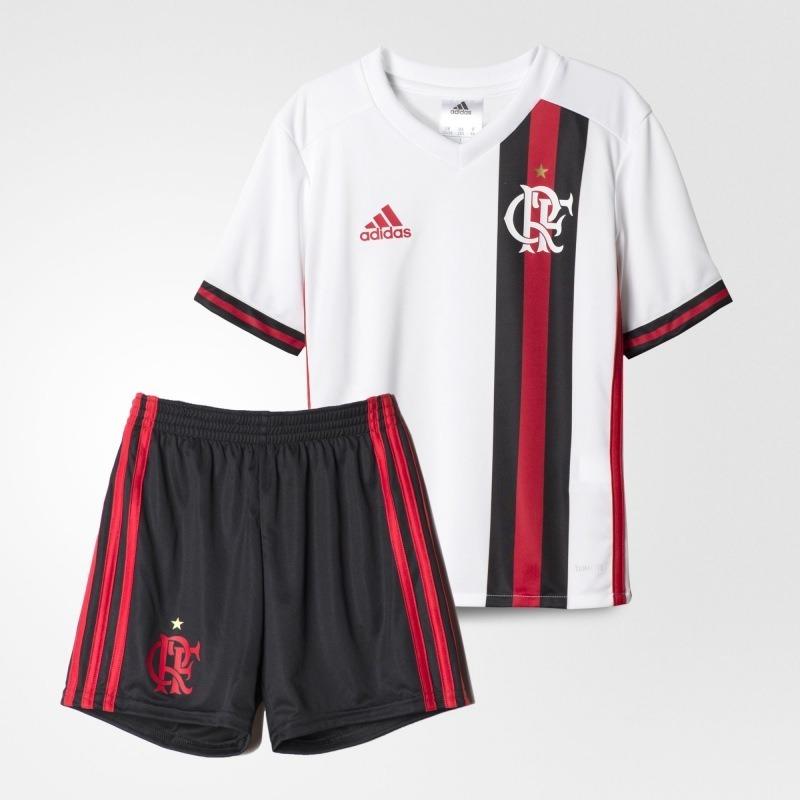 0753ef0dc2244 kit adulto flamengo futebol camisa e shorts adidas oficial. Carregando zoom.