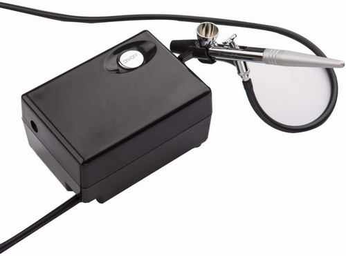 kit aerografo compresor .4mm maquillaje artes tortas w01